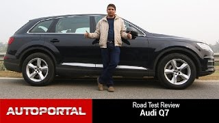 Audi Q7 Test Drive Review - Autoportal