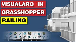 VisualArq Grasshopper Tutorial | Railings