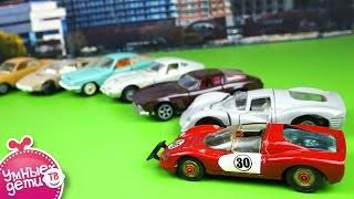 Машинки маленькие коллекционные. Игрушечные модельки зарубежных автомобилей. Models of foreign cars