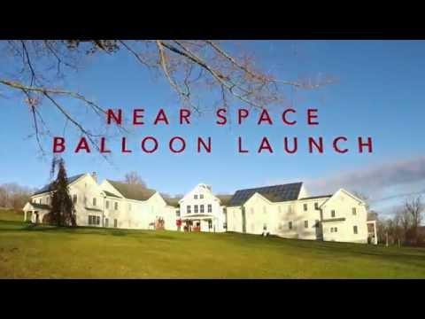 South Kent School: Near Space Balloon Launch
