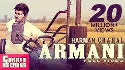 Armani   Harman Chahal   Mr VGrooves   Full Video   New Punjabi Song