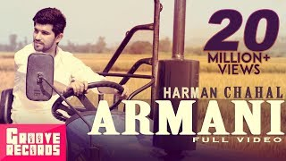 Armani  Harman Chahal  Mr Vgrooves  Full Video  New Punjabi Song