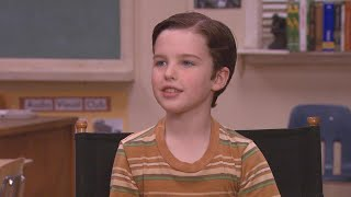 'Young Sheldon' Star Iain Armitage on Sheldon's 'Terribly Unhappy' Childhood