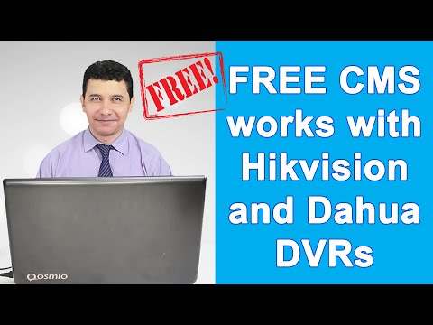 CMS For Hikvision/Dahua DVRs In The Same Network