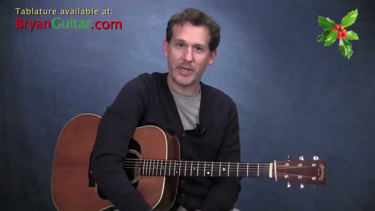 how to play silent night on guitar by bryan sutton youtube. Black Bedroom Furniture Sets. Home Design Ideas