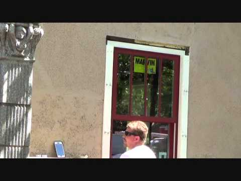How to trim out an exterior window - YouTube