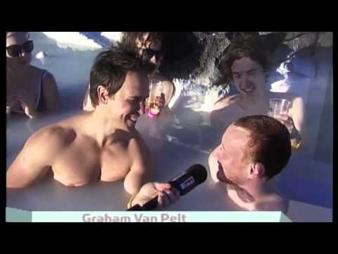 Iceland Interview in the Blue Lagoon!