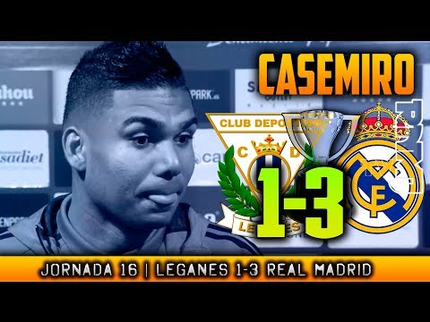 CASEMIRO post Leganés 1-3 Real Madrid (21/02/2018) | LIGA JORNADA 16