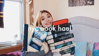 NYC Book Haul - Barnes & Noble and The Strand Bookstore!
