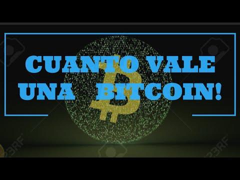 Cuanto Vale Una Bitcoin? En Dolares