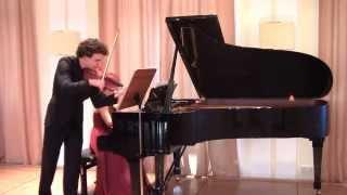 "L. v. Beethoven - Violin Sonata no. 9 ""Kreutzer"" - Gerard Spronk, Vera Kooper"