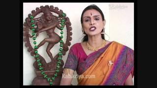 Bharatanatyam Abhinaya - The beauty & breadth Demonstration & Recital DVD twin pack