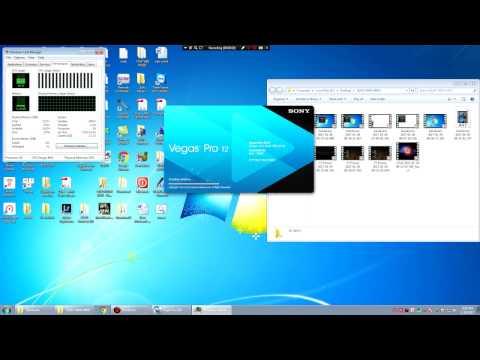 Test khả năng render của Nvidia Quadro 2000 với Sony Vegas (gear: HP Workstation Z600)