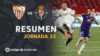 Resumen de Sevilla FC vs Real Valladolid (1-1)