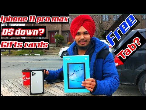 How To Buy Iphone 11 In Canada | Iphone Price In Canada | Iphone Unboxing  | 2019| Aulakh Vlogs