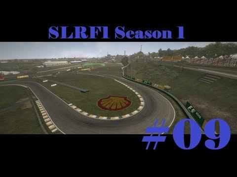 F1 2012 SLRF1 Online League Racing - 1st Season - 9th Race Brazil (Autódromo José Carlos Pace)