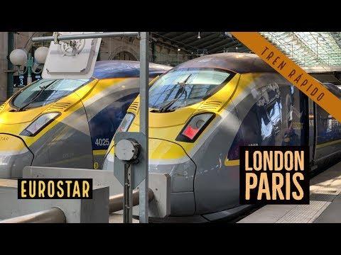 Londres - París - Eurostar - Febrero 2019