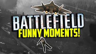Battlefield 4 Funny Moments - RendeZook, Evil Snow Mobile Man, Lucky Shot! (Funny Moments)