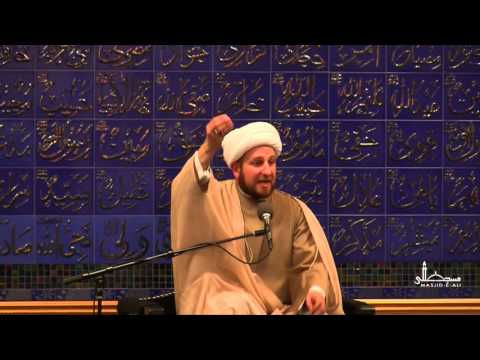 Learning to AIM from Imam Ali (a.s.) - Dr. Usama Al-Atar - Masjid-e-Ali