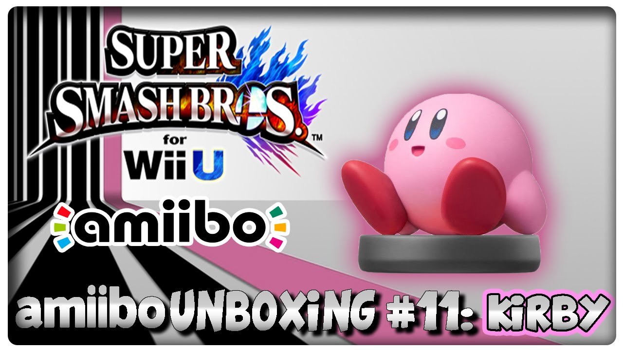 Amiibo Unboxing #11: Kirby + Features in Mario Kart 8, Super Smash ...