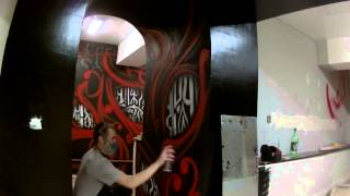 роспись стен в Смоленске.граффити оформление (13th Door – Mandrake Root)(, 2015-08-22T22:35:35.000Z)