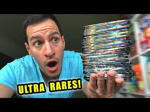 *TONS OF ULTRA RARE POKEMON CARDS!* Opening CUSTOM Booster Box of NEW Packs!