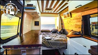 Incredible Van Conversion w/ Murphy Bed & Creative Shower