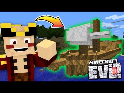 I'M LEAVING TO BECOME A PIRATE - Minecraft Evolution SMP #33