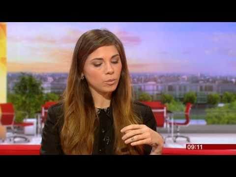 Christina Perri Interview BBC Breakfast 2014
