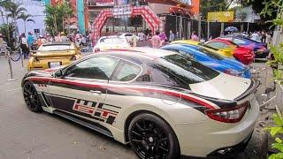 [TNTBros] Dàn Siêu Xe Lễ Ra Mắt Tốc Độ Và Đường Cong   Lamborghini Aventador, Gallardo, Murciélago..