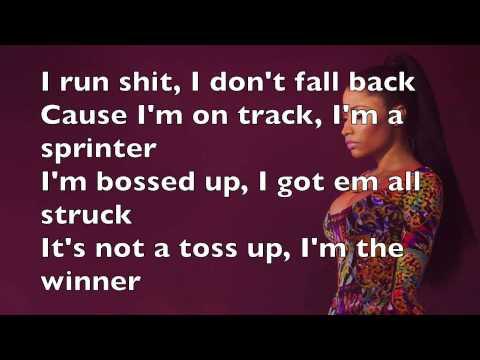 Nicki Minaj - Bitch I'm Madonna lyrics (official audio)
