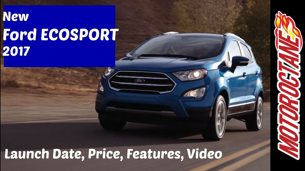 new car launches in hindiNew Ford Ecosport 2017 Launch Date Price in India  Hindi  YouTube