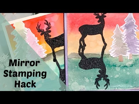 best-mirror-stamping-hack-i've-ever-seen:-cardmaking