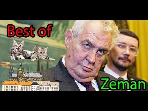Best of Miloš Zeman - Kandidáti na prezidenta 2018 #2