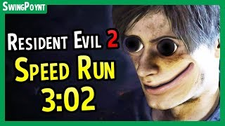 Resident Evil 2 Demo Speed Run 3:02 DONE LIVE! - (Resident Evil 2 Remake One Shot Demo Speed Run)