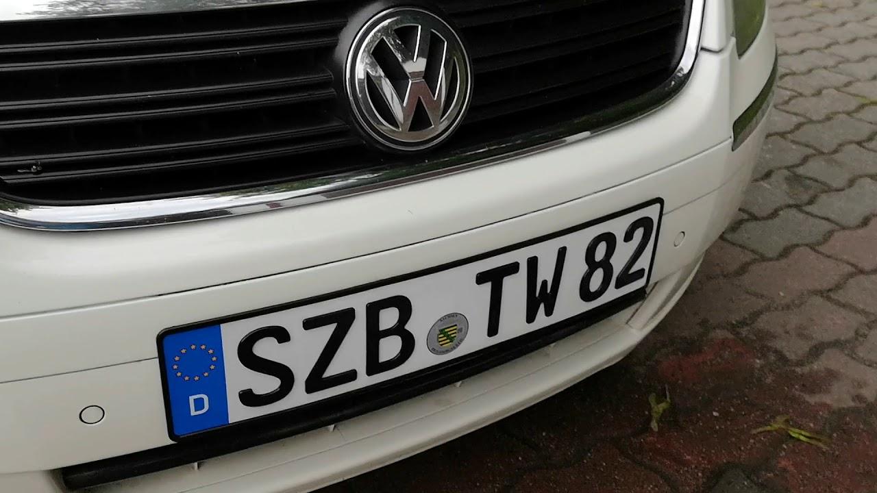3D Kennzeichen Tuning VW Phaeton Erfahrungen Testbericht 2018 3D ...