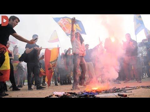 L'extrema dreta perd força a Montjuïc