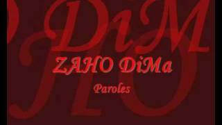 Zaho Dima paroles