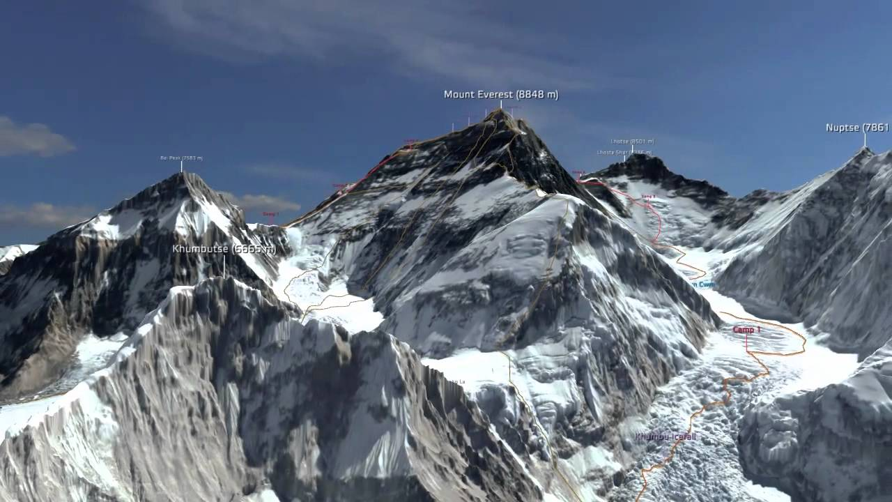 3d Mustang Wallpaper Virtual Conquest Of A Summit Mount Everest In 3d Youtube