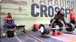 Kings of Weightlifting - Kendrick Farris - Derrick Johnson