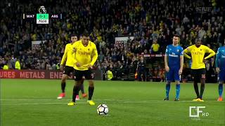 Arsenal vs Watford 1 2 All Goals & Highlights 10 14 2017
