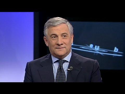 """euronews interview - Tajani:""""l'Europa deve puntare sulla qualità per sconfiggere la crisi"""""""