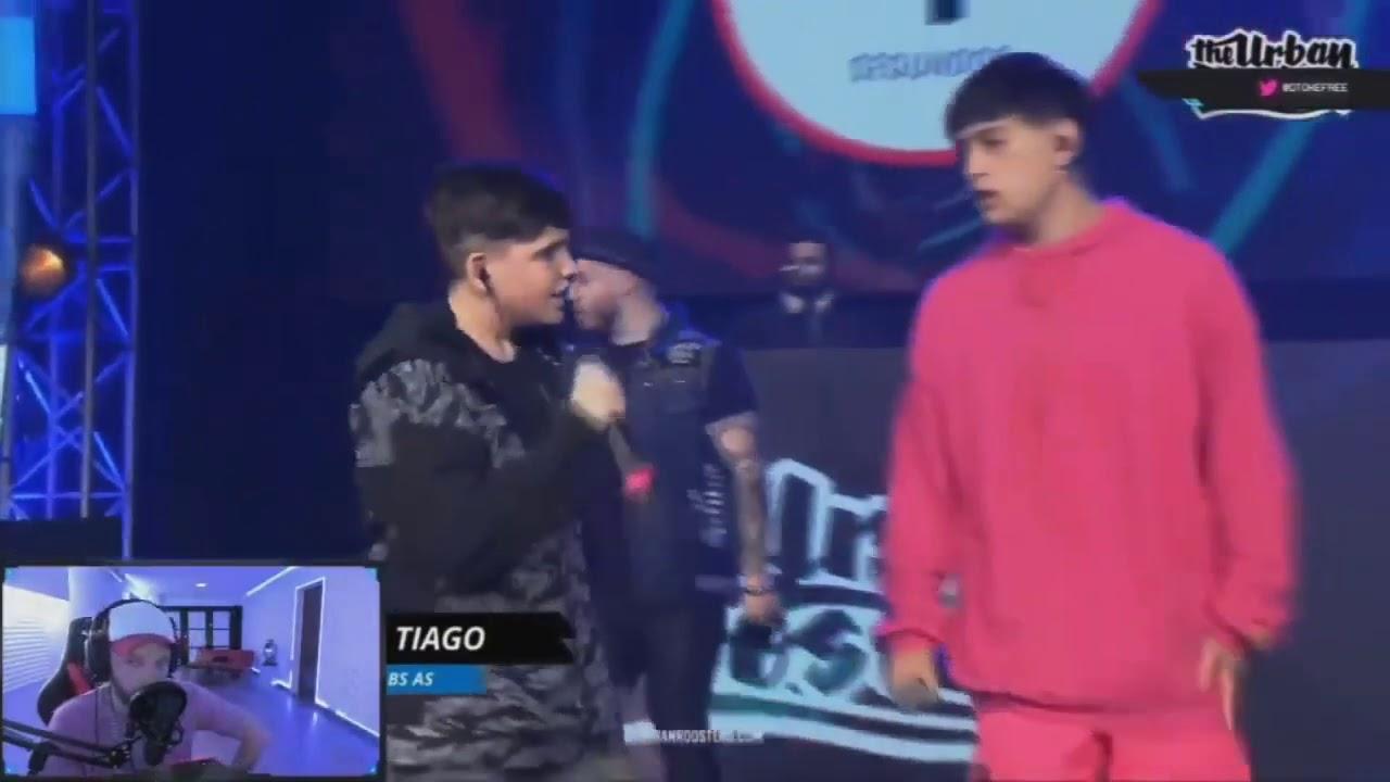 Download 🇦🇷DTOKE REACCIONA A MINUTAZO DE TIAGO JORNADA 2 FMS ARGENTINA 2020 🇦🇷🇦🇷