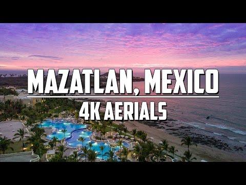 DJI MAVIC PRO - Flying High Over Mazatlan, Mexico - 4K