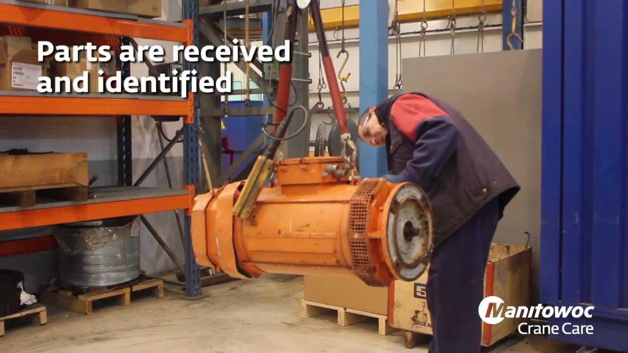 Manitowoc Cranes EnCORE Parts Repair