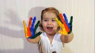 Рисуем пальчиковыми красками Drawing the fingers paint(Рисуем пальчиковыми красками Drawing the fingers paint Это так интересно рисовать пальчиками и для этого есть пальчик..., 2015-11-06T21:28:47.000Z)