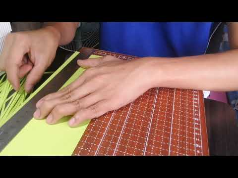 How To Cut Paper Strips for Quilling