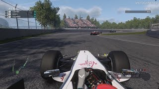 F1 2018 - 2009 Brawn BGP-001 in Classic F1 Race at Circuit Gilles Villeneuve
