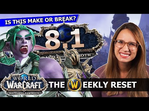 Can 8.1 Fix Everything? WoW's Record Numbers,  Mounts, Models & the Lich King PTR: BfA News