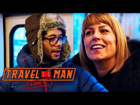 Richard Ayoade & Fay Ripley 'how to sound Norwegian' EXCLUSIVE    Travel Man: 48hrs in Oslo...